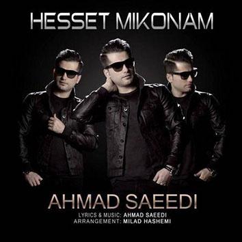 متن آهنگ احمد سعیدی حست میکنم