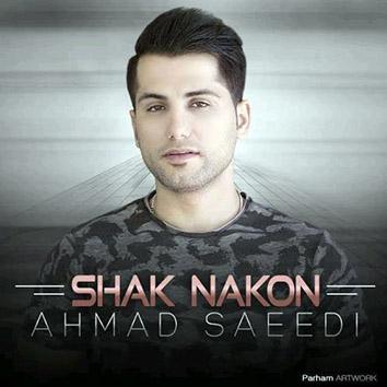 متن آهنگ احمد سعیدی شک نکن