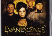 تصویر متن و ترجمه آهنگ Evanescence – My Immortal