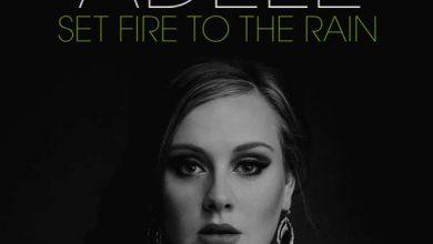 تصویر متن و ترجمه آهنگ Adele – Set fire to the rain